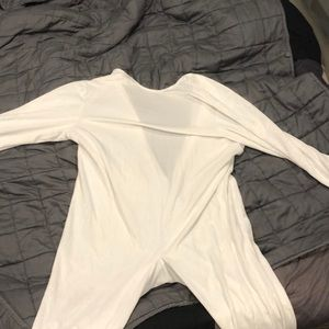 Other - Large one piece white fluffly suit